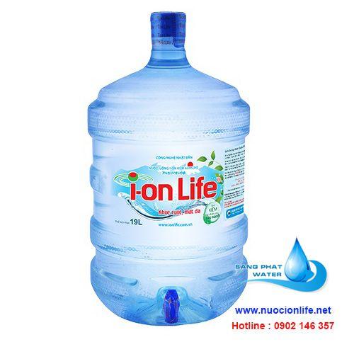 nước uống ionlife 19 lít