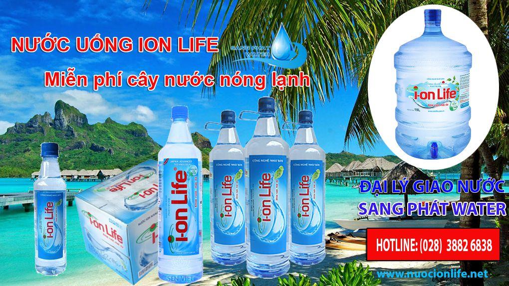 Đại lý nước uống ion life tại TpHCM