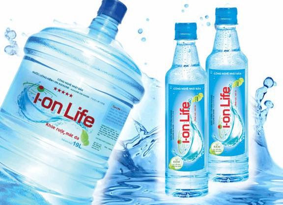 Nước uống Ion Life tốt cho sức khỏe